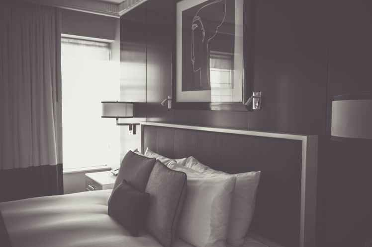 apartment architecture bed bedroom
